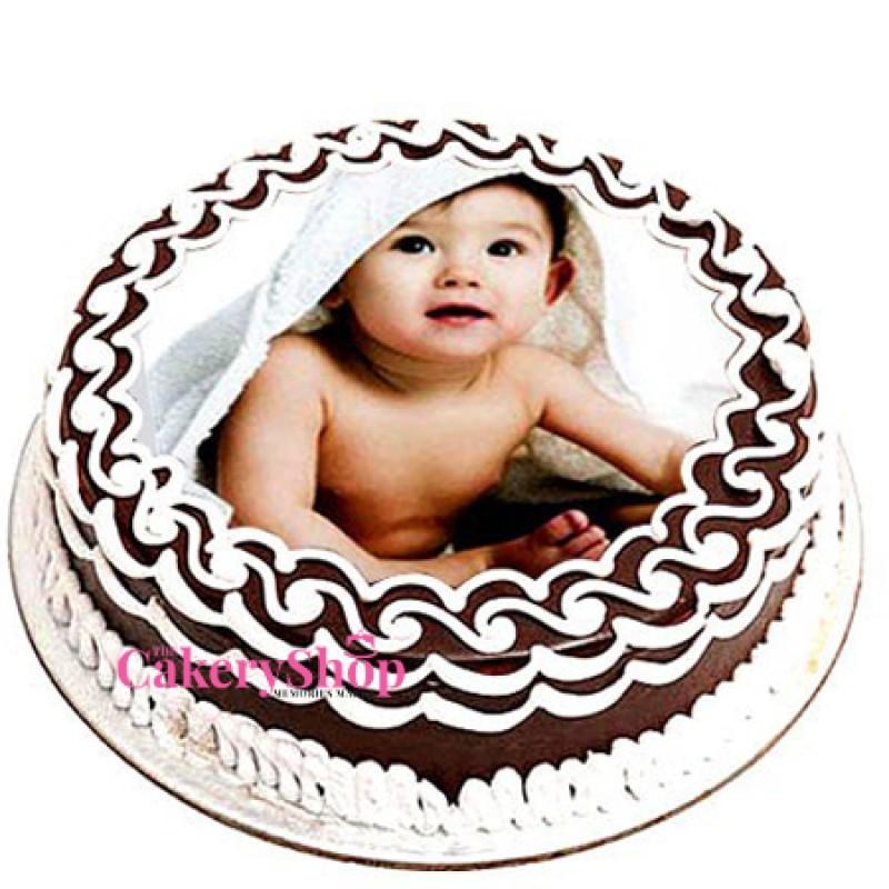Amore Chocolate Photo Cake