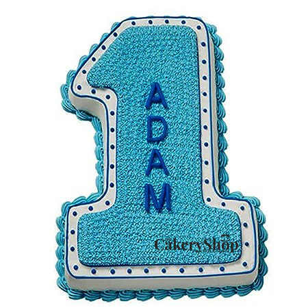 Number One Cake